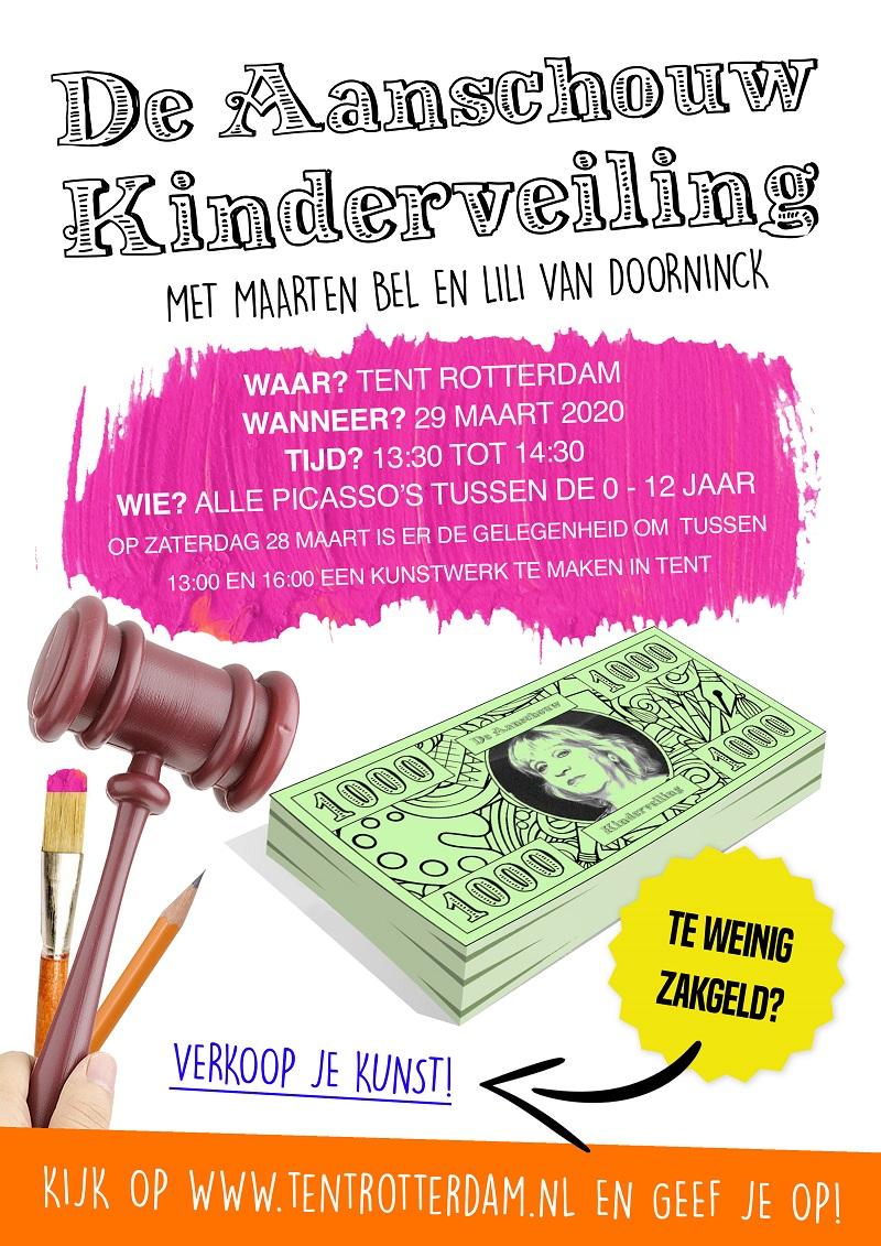 VEILING DE AANSCHOUW TENT Rotterdam | Platform voor